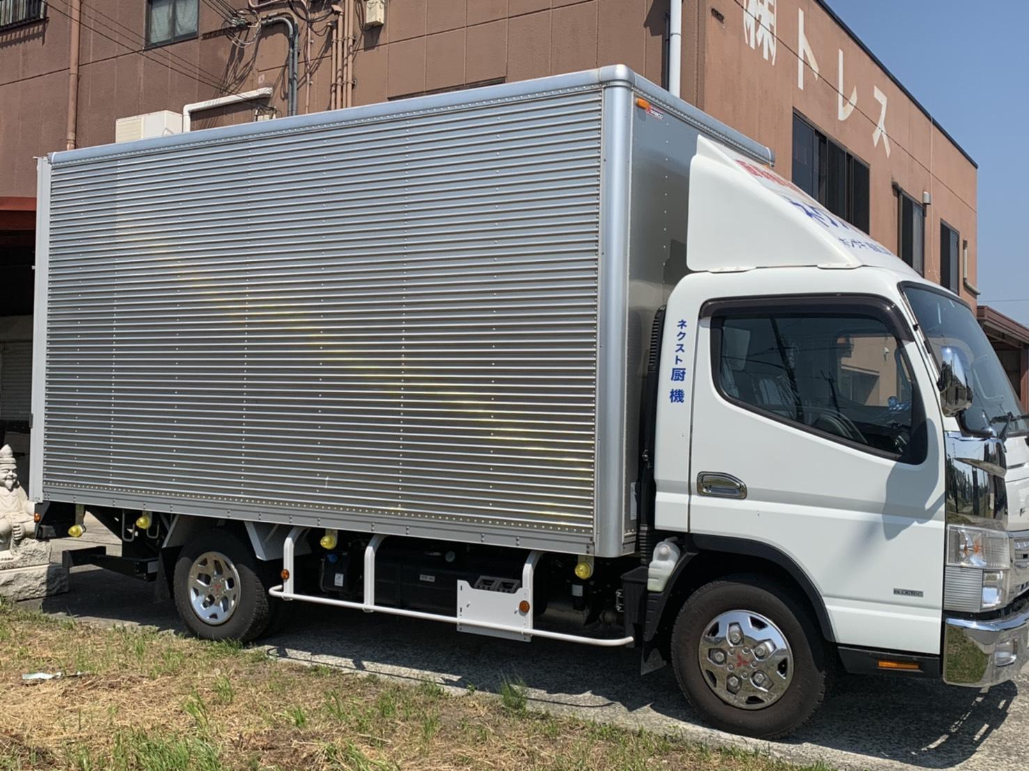 ネクスト厨機搬送用トラック
