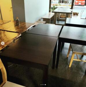 中古厨房機器の納品 机テーブル